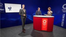 vizualizácia olympijského štúdia RTVS