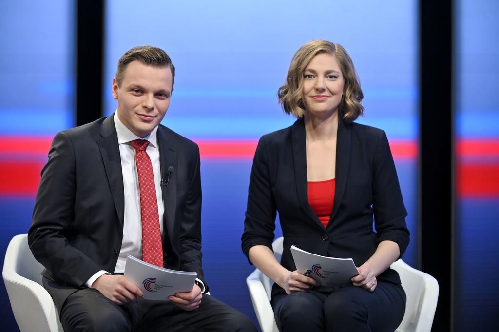 Voľby 2020, moderátori