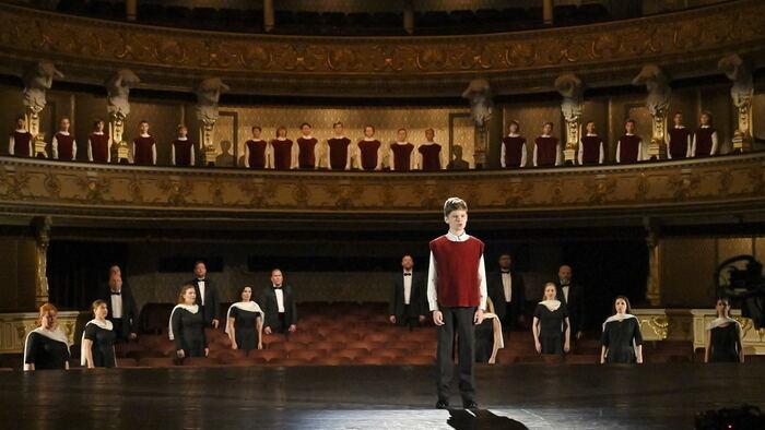 opera snd, chlapčenský zbor, ďakujeme slovensko