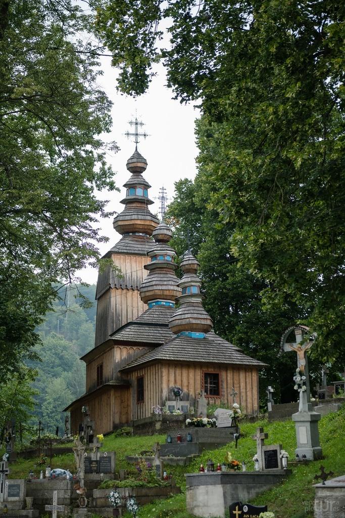 Drevený kostol, Hunkovce