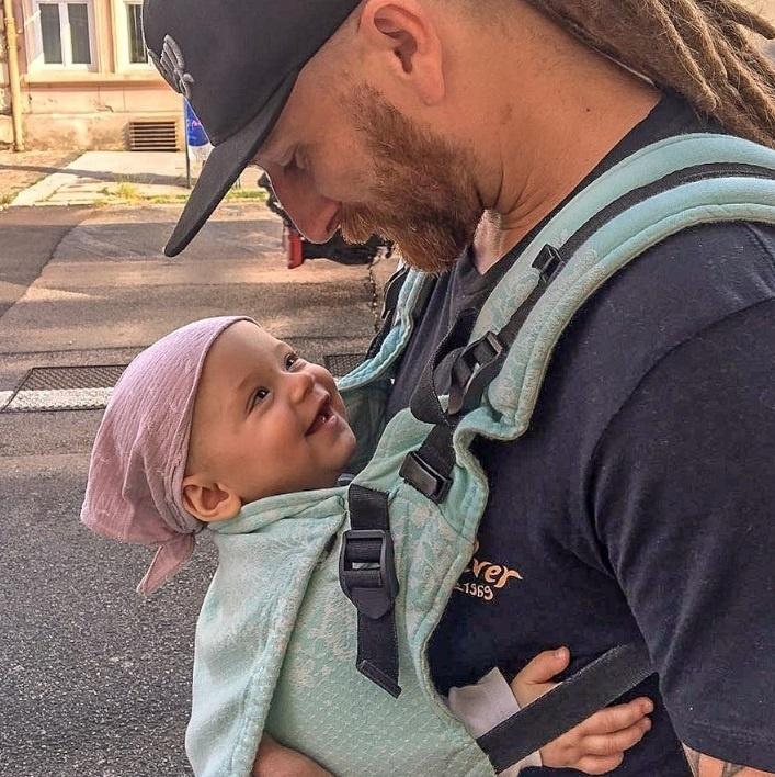 Martin Mihalčin s dcérou Emmou