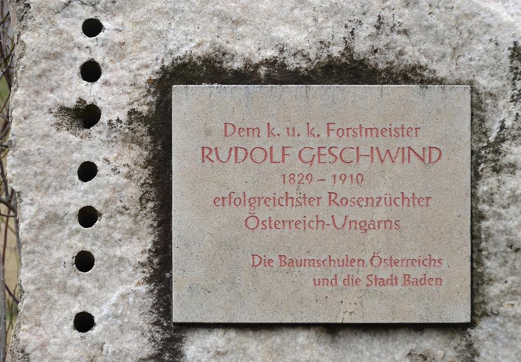 Rudolf Geschwind, hrob