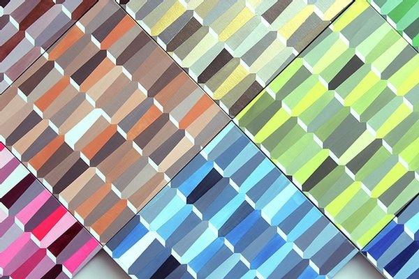 CO9 El Patrón Falocéntrico, 2014. Acrylic on canvas, modular composition of 16 pieces, 40x40cm.jpg