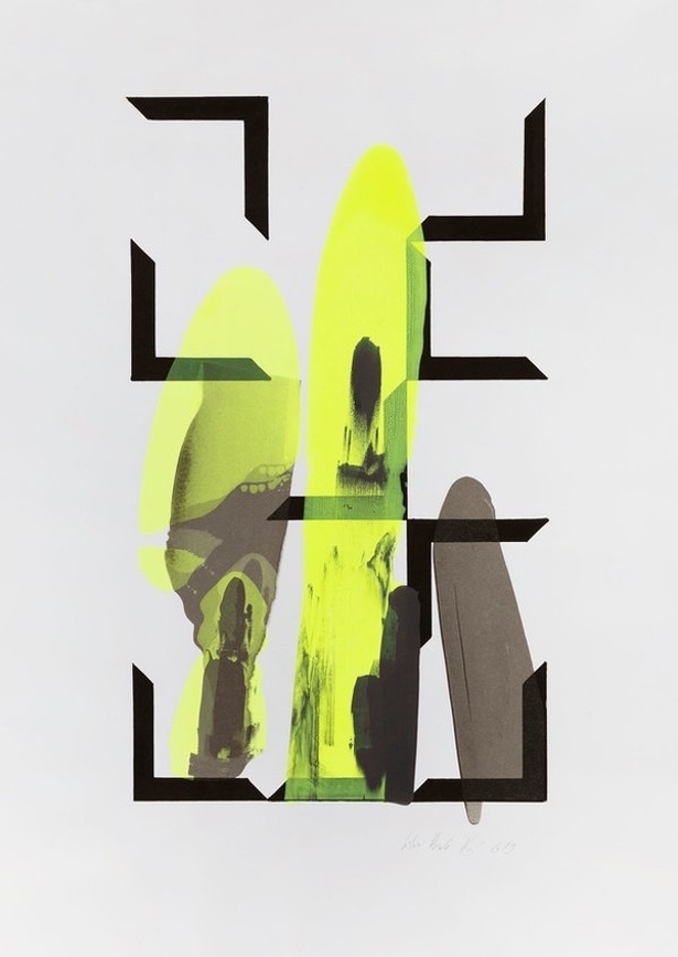CO3 Terrified, 2019. 5 Color Screenprint, 70x50 cm. Munken Lynx 300g. Monoprint.jpg