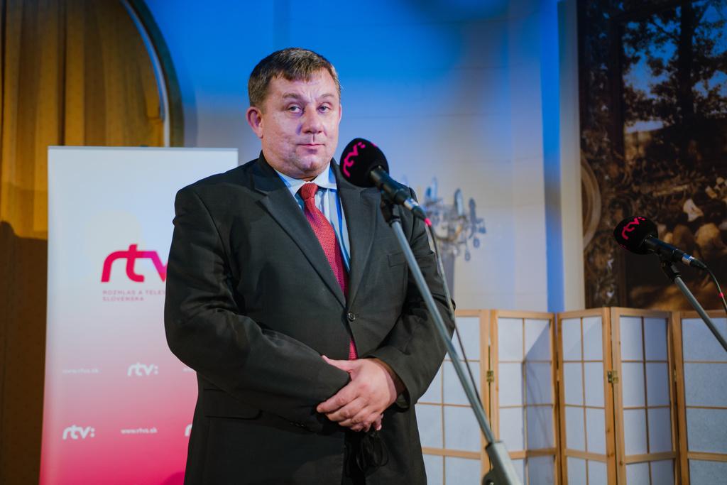 Michal Dzurjanin, riaditeľ Sekcie programových služieb Slovenského rozhlasu