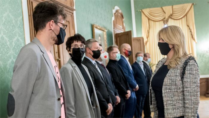 Prezidentka SR Zuzana Čaputová prijala predstaviteľov kultúrnej obce, kreatívneho priemyslu a športu_TASR.jpg