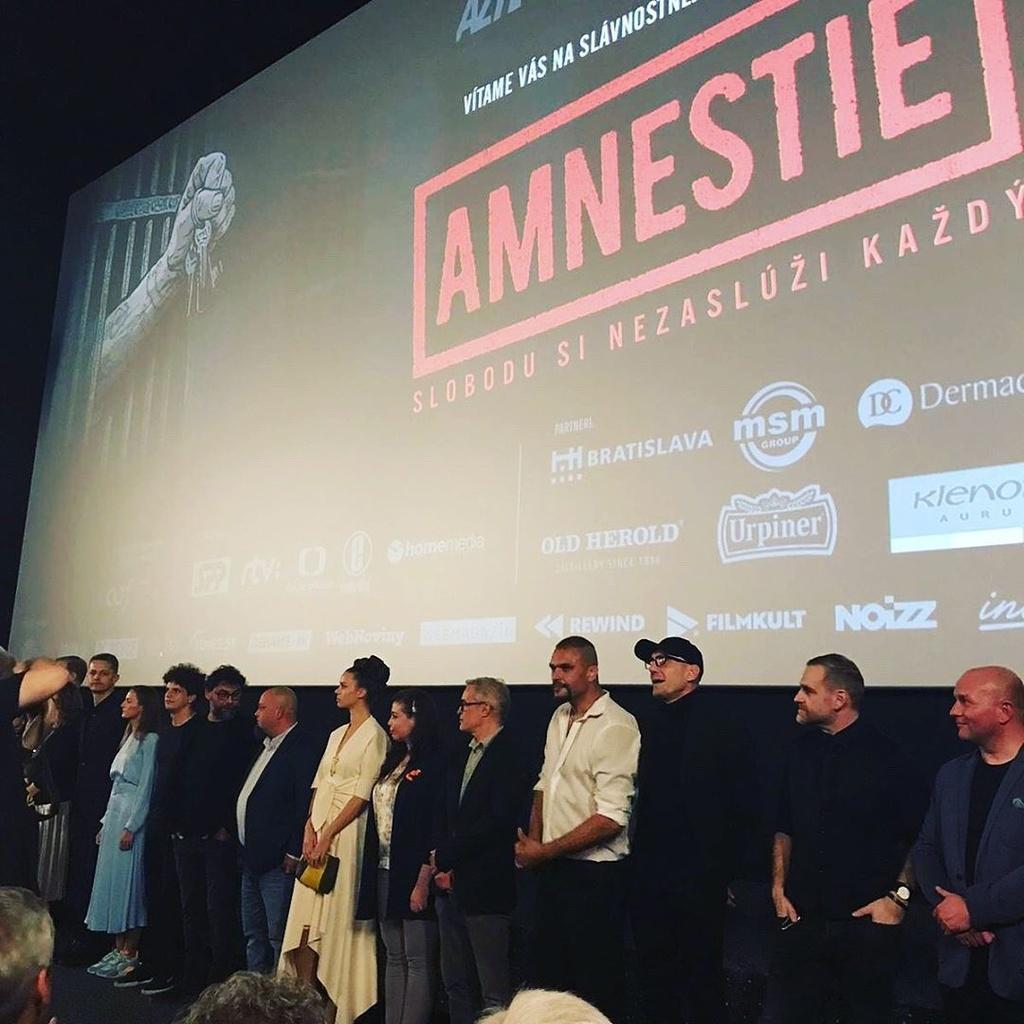 Film Amnestie, kinopremiéra