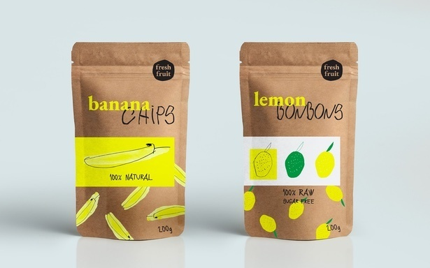 CO9 Obalový dizajn, Banana chips, Lemon bonbons.jpg