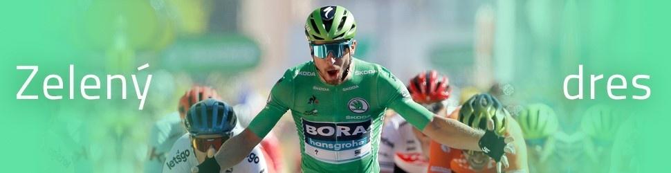 Víťazstvo v etape pre Petra Sagana so zeleným dresom