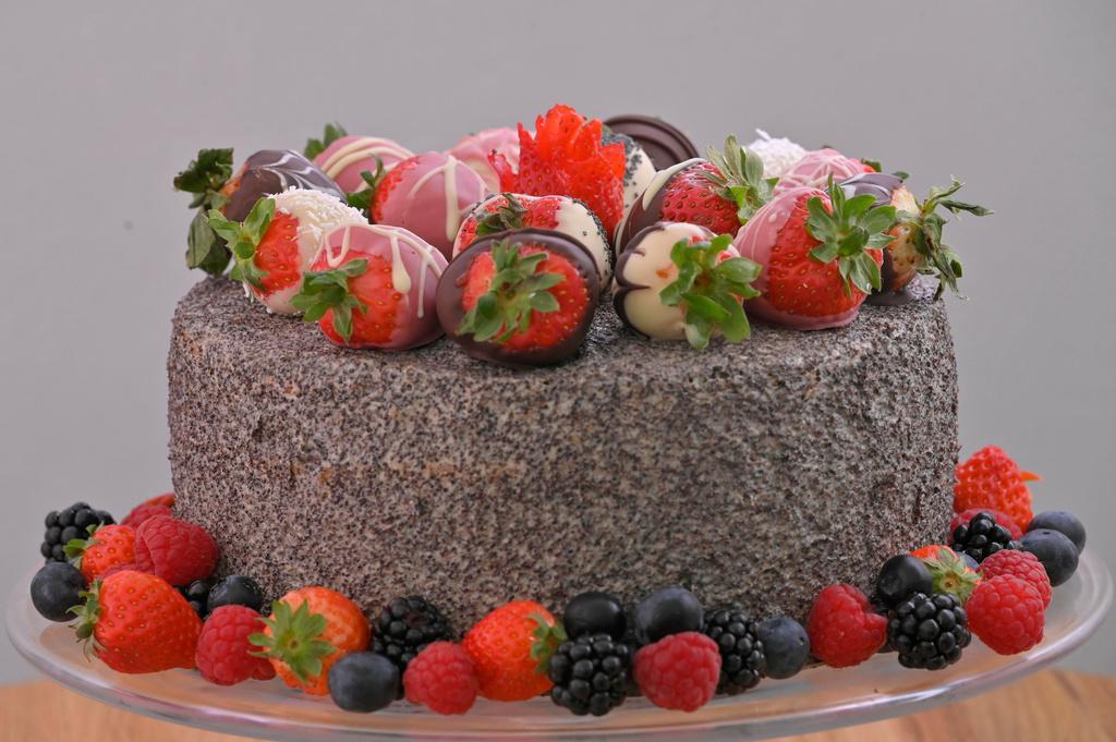 Makovo-maková torta