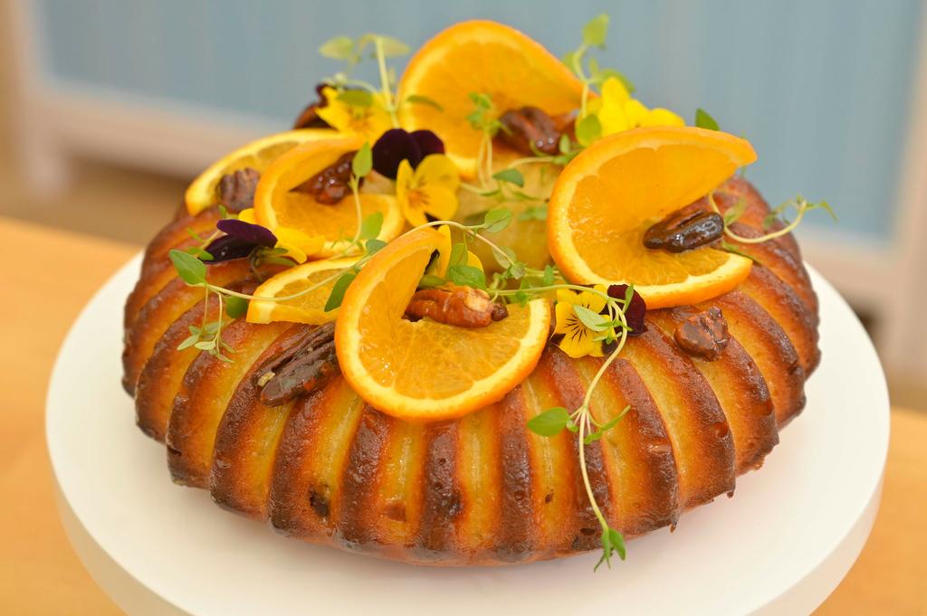 Pomarančovo-tvarohová bábovka