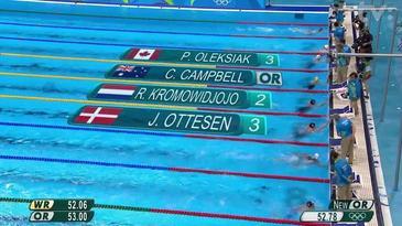 Plávanie - olympijský rekord