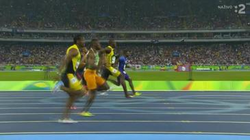 Usain Bolt a jeho víťazstvo na 100m